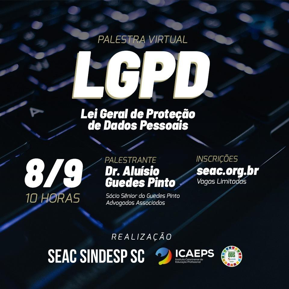 Read more about the article Palestra LGPD